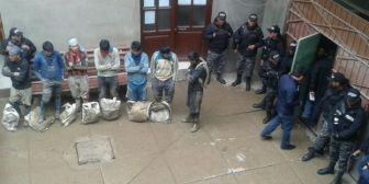 Oruro. Recuperan tres toneladas de mineral en Huanuni