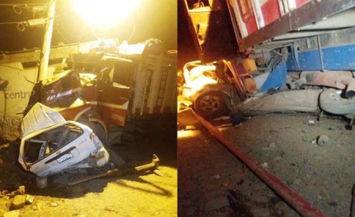 El accidente en Montecato dejó cuatro fallecidos y varios heridos.