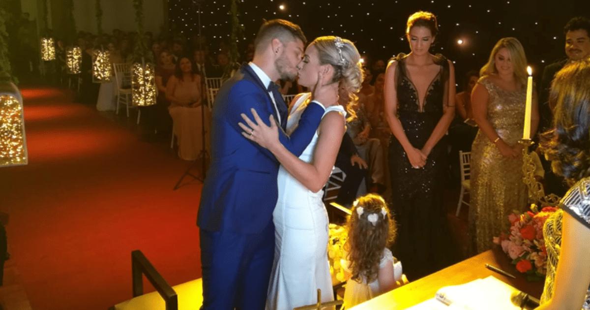 Oscar y Ximena ya son marido y mujer