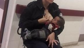 En primera persona, la sargento Celeste Ayala reveló detalles de la foto que se hizo viral en las redes
