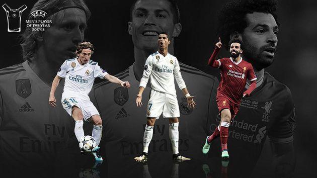 Sin Messi, los nominados a Mejor Jugador del Año en UEFA