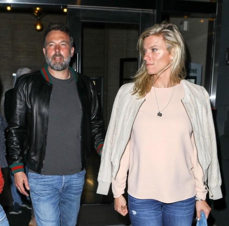 Una de las últimas fotos de Ben Affleck con Lindsay Shookus (The Grosby Group)