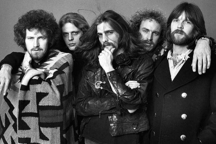 El grupo Eagles en una foto de promoción