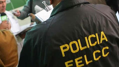 Un efectivo de la Fuerza Especial de Lucha Contra el Crimen (FELCC) de La Paz- Foto: archivo