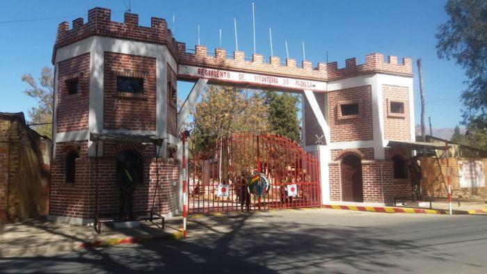 Comisión del Senado inspecciona unidades militares en el departamento de Tarija