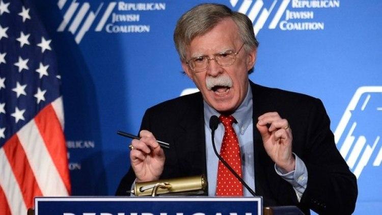 John Bolton, asesor de seguridad de EEUU