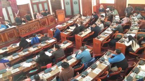 La sesión de la Cámara de Diputados que se instaló este jueves para tratar el proyecto de ley de Organizaciones Políticas.