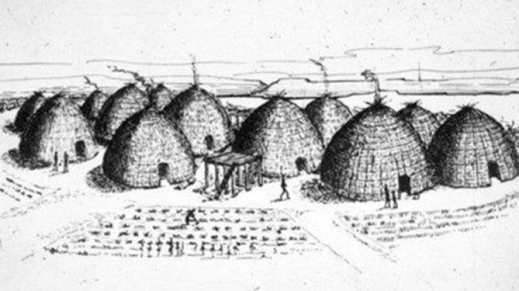 Etzanoa albergó a 20.000 habitantes enbarrios de casas rodeados de cultivos.