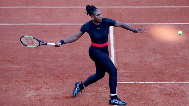 Roland Garros prohíbe el traje post parto de Serena Williams