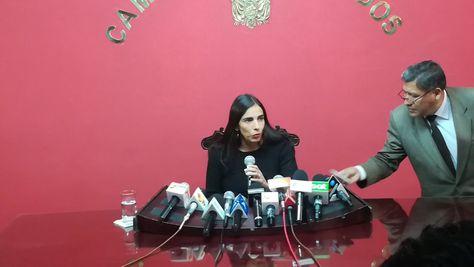 La presidenta de Diputados, Gabriela Montaño. Foto:Cámara de Diputados