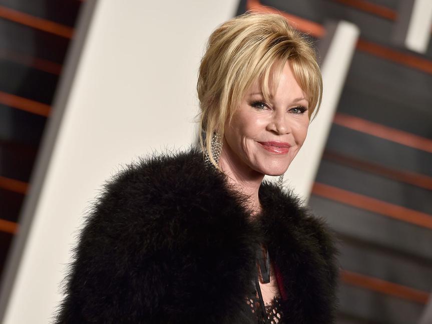 Melanie Griffith, en la fiesta Vanity Fair de los Oscar.