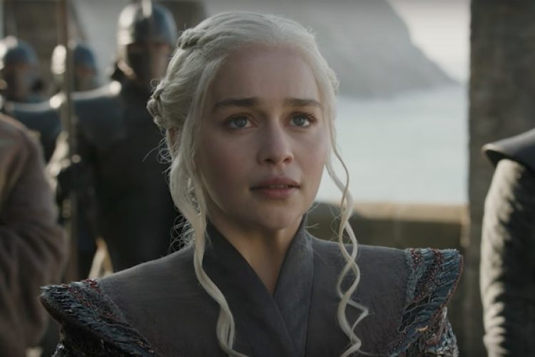 Emilia Clarke en la temporada 7 de Game of Thrones (HBO)