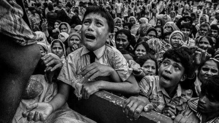 Una de las imágenes símbolo de la crisis de los rohinyas (Kevin Fryer/Getty)