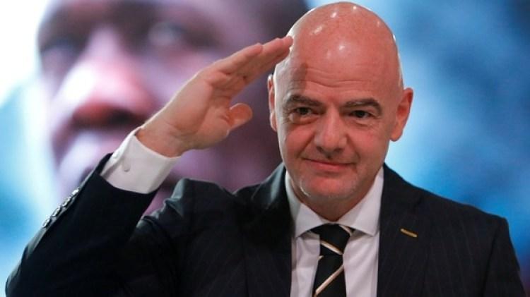 Gianni Infantino, presidente de la FIFA (Reuters)