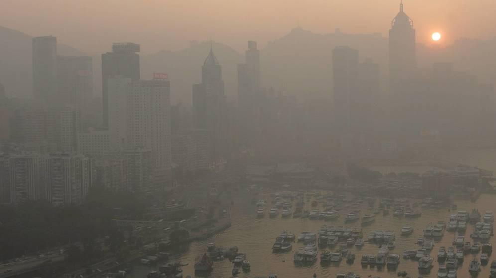 Foto: La contaminación del aire, un problema global (EFE/Alex Hofford)