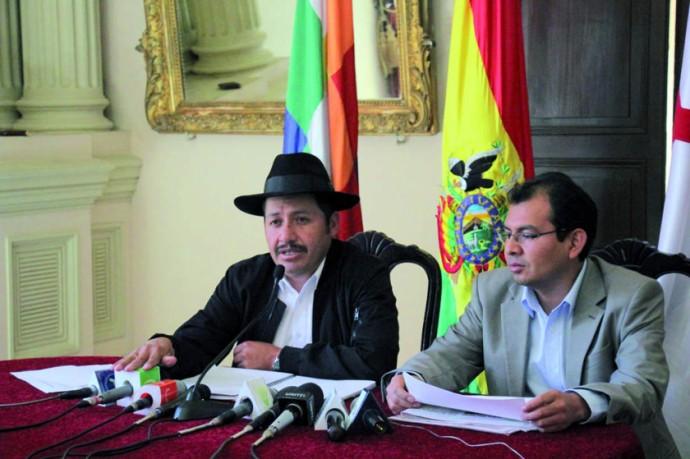 El Gobernador de Chuquisaca