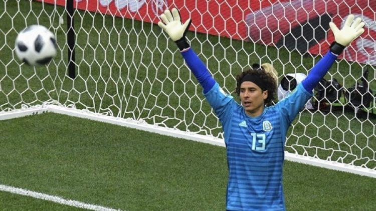 """Éste era el look del """"Memo"""" Ochoa (AFP)"""