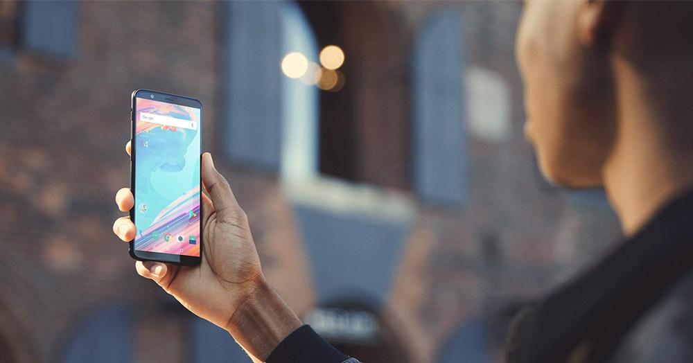 Cámara frontal del OnePlus 5T