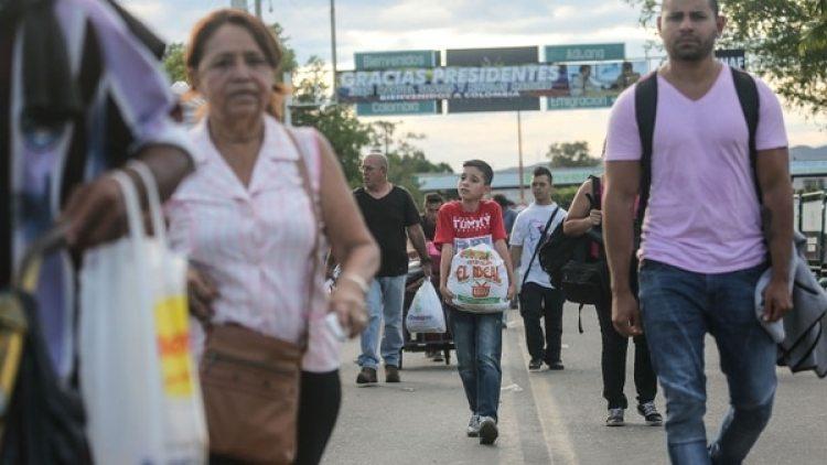 Los venezolanos escapan hacia otros países de la región (Mario Tama/Getty Images)