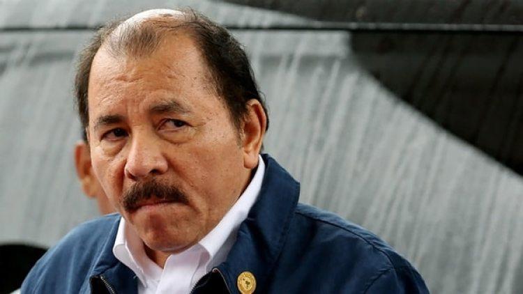 El presidente de Nicaragua, Daniel Ortega..
