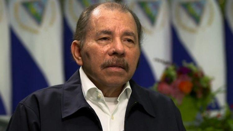 El dictador nicaragüense Daniel Ortega