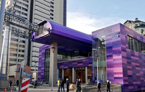 La Línea Morada del teleférico de La Paz