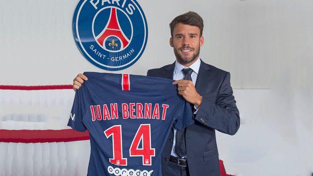 PSG anunció fichaje de Juan Bernat