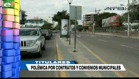 Video titulares de noticias de TV – Bolivia, noche del martes 21 de agosto de 2018