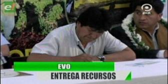 Video titulares de noticias de TV – Bolivia, noche del lunes 13 de agosto de 2018