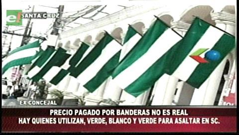 Denuncias de sobreprecios: De las bandas a las banderas en Santa Cruz