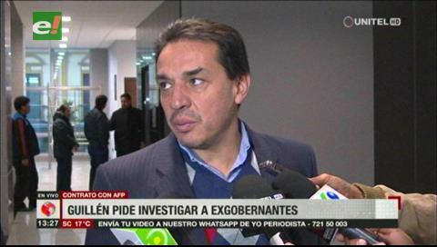 Contratos con las AFP's: Ministro de Economía pide investigar a exgobernantes