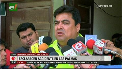 La Policía da por esclarecido el accidente con muerte en el barrio La Palmas