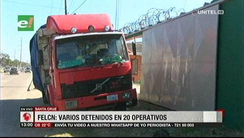Decomisan camión con precursores químicos para laboratorio de cristalización de cocaína