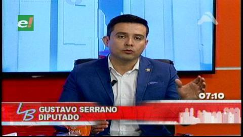 Serrano: La aprobación de la Ley de Organizaciones Políticas es una artimaña del MAS para desconocer el 21-F