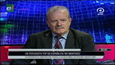 """Manuel Campo Vidal, periodista español: """"comunicar bien es rentable"""""""