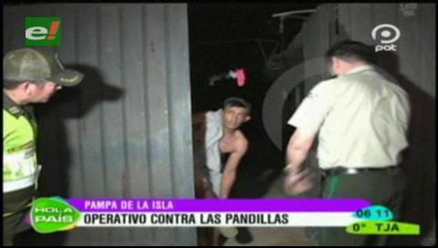 Policía persiste en su lucha para frenar las pandillas en Santa Cruz