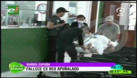 Exreo de Palmasola muere tras recibir varias puñaladas