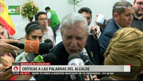Zeballos y Saavedra critican las declaraciones de Percy por preguntas sobre corrupción