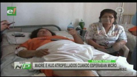 Madre que fue atropellada junto a su hijo de 7 años pide justicia