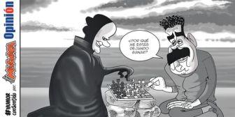 Caricaturas de Bolivia del miércoles 15 de agosto de 2018