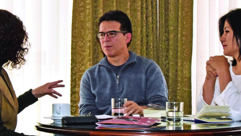 """""""La solución es que Evo dé un paso al costado para no empantanar al país"""""""