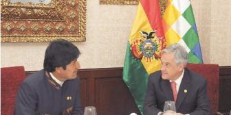 Las minutas secretas del último esfuerzo entre Piñera y Evo Morales por una salida al mar