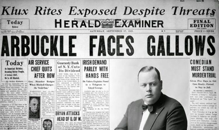 La noticia impactó a todos y se convirtió, con los años, en el primer escándalo de gran magnitud del que se tenga registro en Hollywood