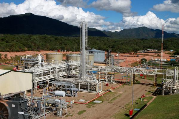Resultado de imagen para campos de gas natural en Bolivia