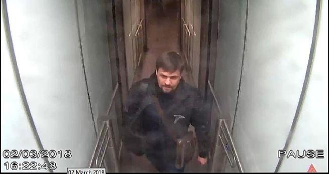 Ruslan Boshirov en una imagen del 2 de marzo en el aeropuerto de Gatwick