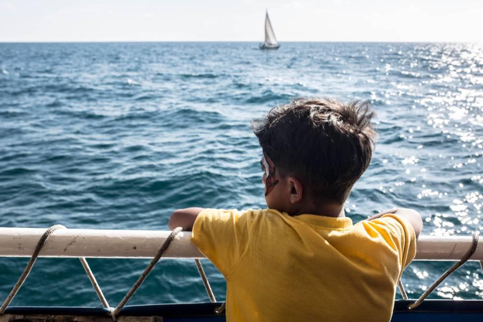 Los participantes en el proyecto no habían visto, antes de esta excursión, el mar de cerca.