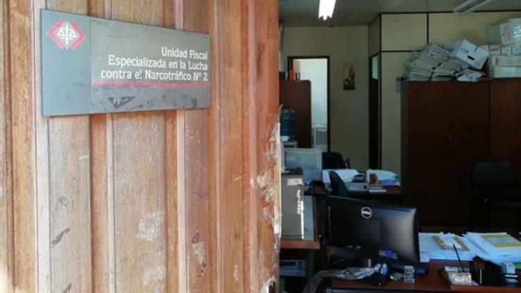 La Unidad Fiscal Especializada en la Lucha contra el Narcotráfico fue intervenida durante los allanamientos