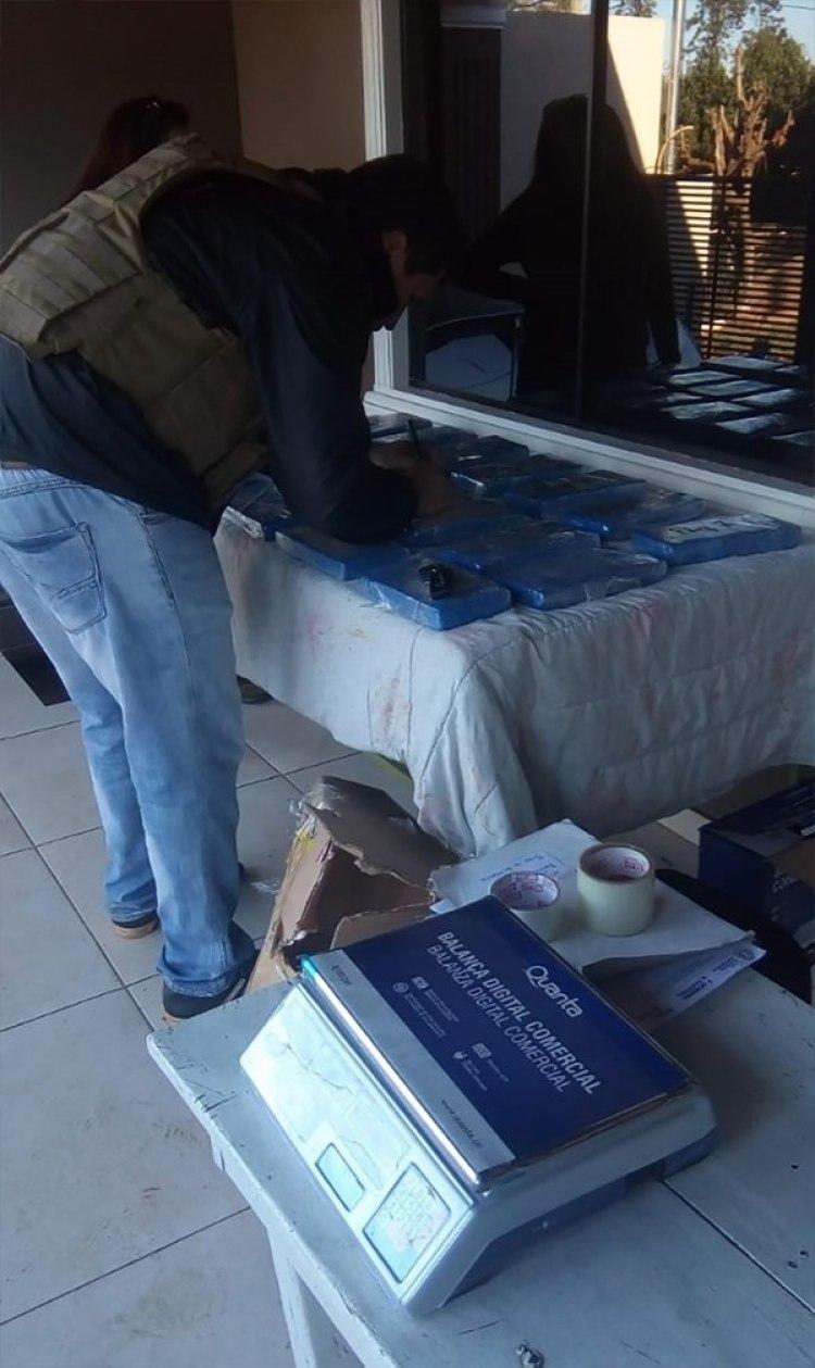 Más de 21 kilos de cocaína fueron incautados en Paraguay