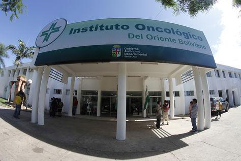 El oncológico de Santa Cruz.