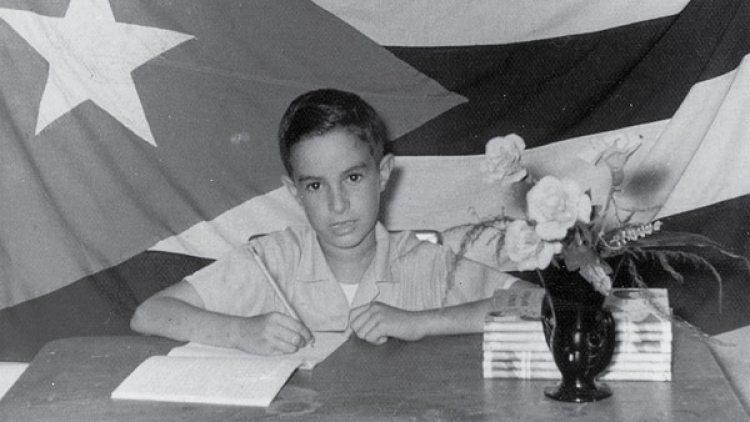 Jorge Luis Valdés dejó Cuba con diez años